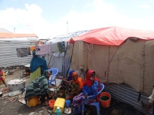 An IDP camp near Galkayo, Somalia. WFP/Mohamed Ali Ahmed