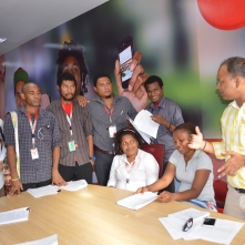 In PNG, phone operators participated in a 3 day mVAM workshop.